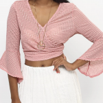 Crossover Top – Pink – Pink – S