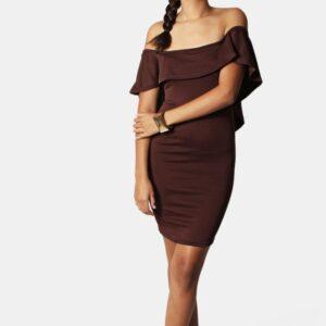 Bodycon Dress – Choc – L