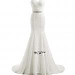 ANJURUISI Mermaid Wedding Dress