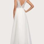 EVER-PRETTY Appliques Detail Mesh Dress
