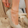 EMERY ROSE Point Toe Court Pumps